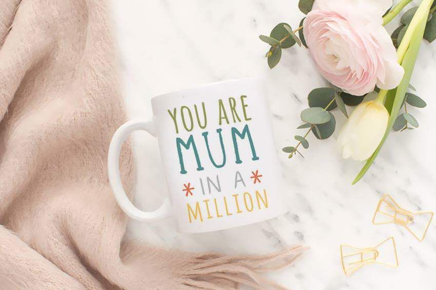 """Чаша """"You are mom in a million"""""""