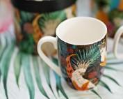 """Чаша за топла напитка и настроение """"Wild parrot"""""""
