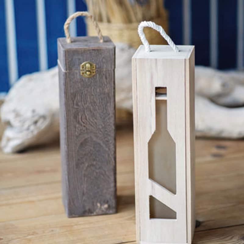 """Поставка за вино """"Wine box."""