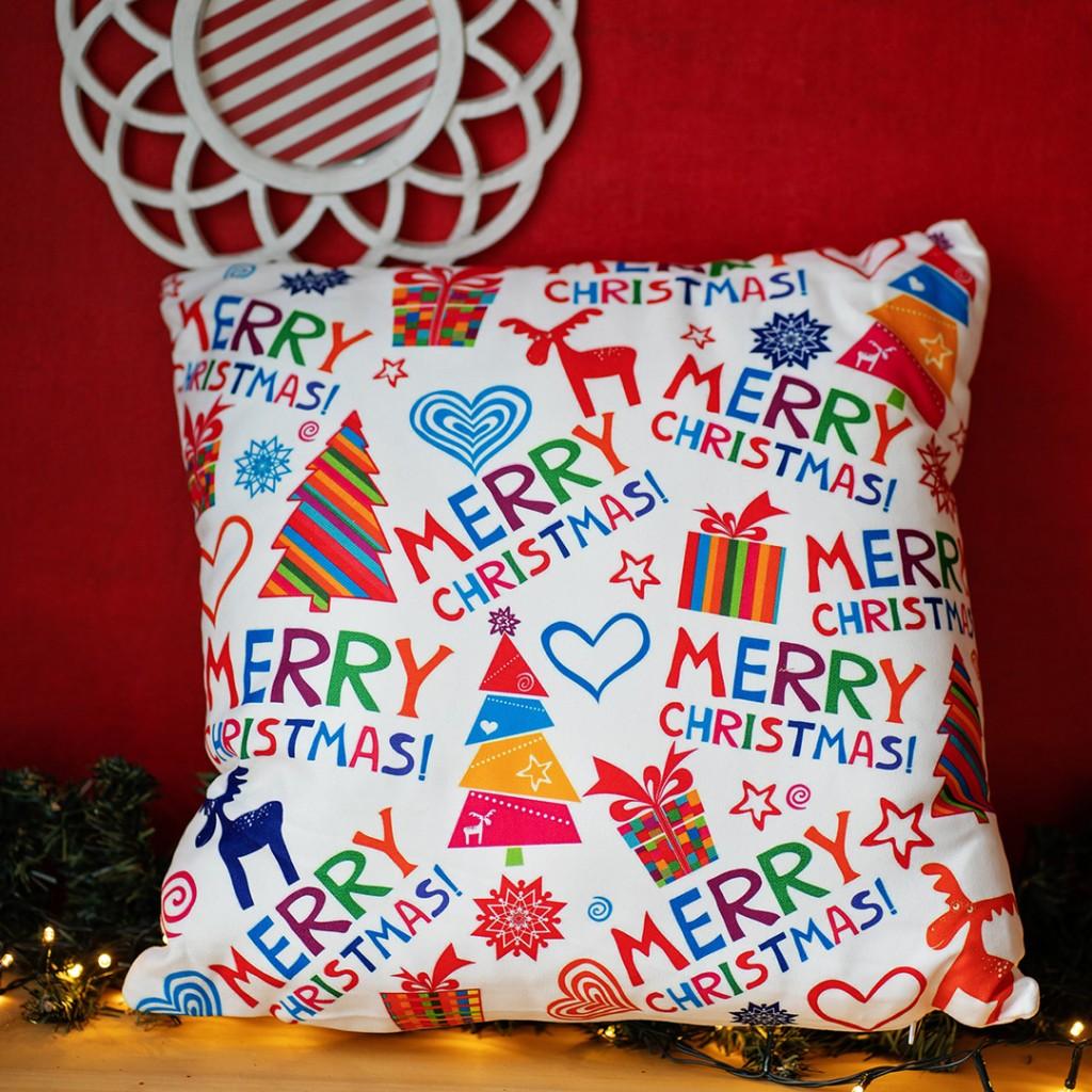 """Коледна възглавница """"Christmas"""""""