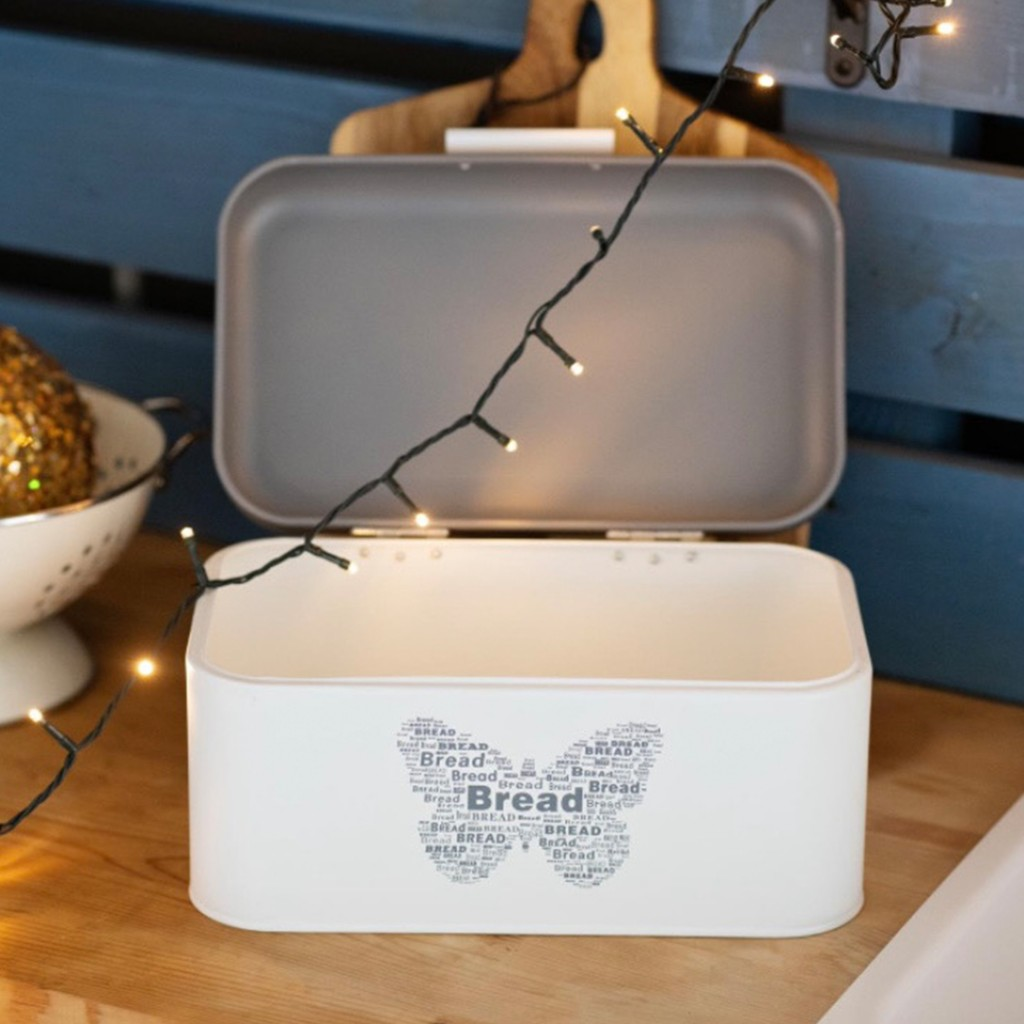 "Кутия за хляб ""White and gray"""